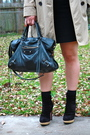 Gap-coat-zara-shirt-banana-republic-skirt-prada-boots-balenciaga-purse