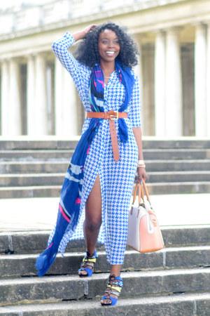 Primark dress - Topshop scarf - Aldo bag