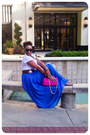 Handmade-skirt-urban-expressions-purse-karen-walker-sunglasses