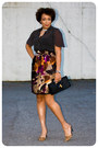 Clutch-the-limited-purse-handmade-blouse-handmade-skirt-dsw-pumps