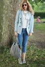 Zara-blazer-stella-mccartney-bag