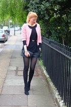 Zara blazer - preen shoes - Marc Jacobs bag - new look shorts - Zara top