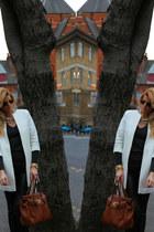 Zara coat - Mul bag - Zara pants - Zara jumper