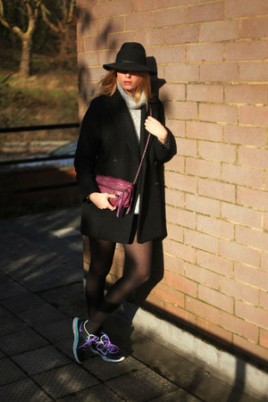 nike shoes - Mango coat - Zadiq & Voltaire bag
