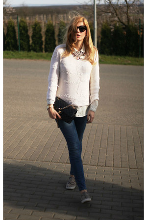 Chanel bag - Zadiq & Voltaire jumper