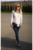 Chanel bag - Zadiq & Voltaire jumper