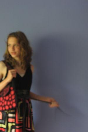 red Rising Tide purse - dress