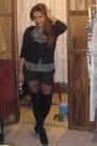 Dress-shoes-purse-shorts-belt-earrings
