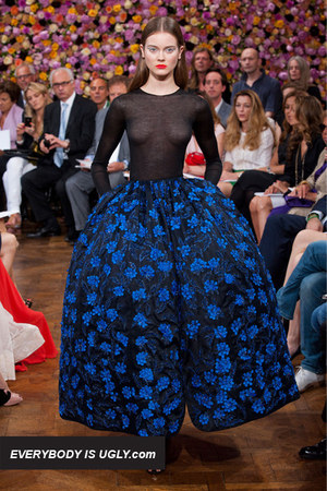 Blue-dior-dress