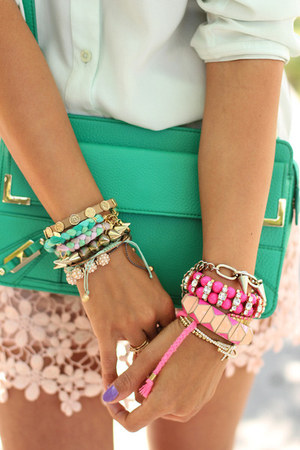 neon bracelet