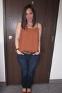 Lucky-brand-jeans-nine-west-belt-forever-21-top-tory-burch-flats