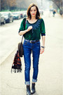 Ankle-boots-second-hand-boots-high-waist-navy-second-hand-jeans