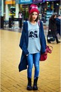 Navy-slouchy-nowistyle-cardigan-t-shirt
