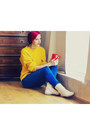 Mustard-second-hand-sweater