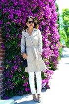 Zara coat - Paige jeans