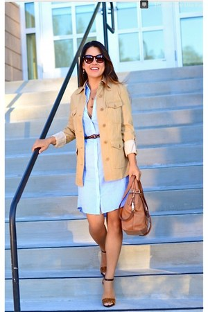 H&M dress - Alice  Olivia jacket