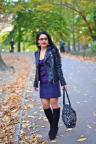 Sergio Rossi boots - Zara jacket - BCBG top - Development skirt