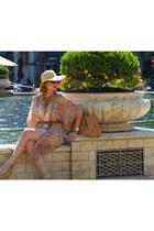 Michael Kors watch - Urban Outfitters dress - Prada bag - Prada sunglasses
