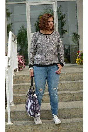 Old Navy jeans - Tibi top - Converse sneakers