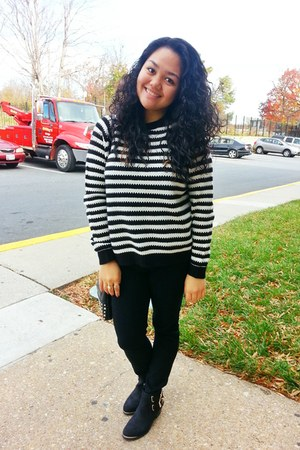 Forever 21 sweater - Nordstrom boots