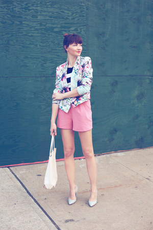PERSUNMALL blazer - Alexander Wang bag - Forever 21 shorts