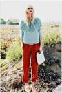 Romwe-blouse-vintage-pants