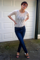 Express shirt - Express top - Express jeans - Nine West shoes