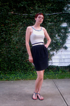 American Apparel shirt - skirt - belt - Old Navy shoes