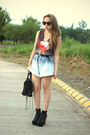 Lita-jeffrey-campbell-boots-balenciaga-bag-oversized-denim-pinkaholic-shorts