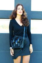 wish dress - H&M jacket - 31 Phillip Lim bag - Michael Kors watch