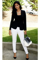 candylicious AnnieandAmrita necklace - fitted black Target blazer