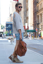 brown coach bag - tan J Shoes boots