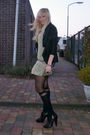 Black-muubaa-jacket-green-zara-dress-black-henry-holland-tights-black-h-m-