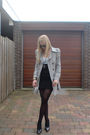 Silver-zara-coat-white-h-m-shirt-black-diy-skirt-black-unknown-shoes-bla