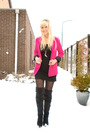 Pink-topshop-blazer-black-h-m-dress-black-unknown-brand-tights-black-prima