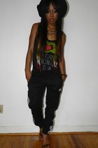 black asos shoes
