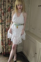 ivory lace catherine malandrino dress