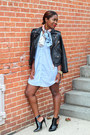 Zara-boots-h-m-dress-club-monaco-jacket-madewell-scarf