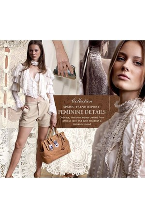 Ralph Lauren dress - Ralph Lauren bag - Ralph Lauren blouse
