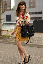 romwe blouse - VJ-style bag