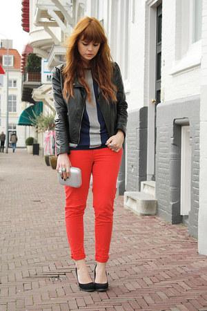 armani bag - Zara pants