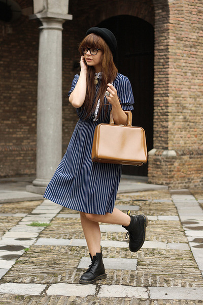 fashionzenvintage dress - fashionzenvintage bag - proopticals glasses