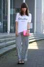 Celine-shirt-h-m-pants