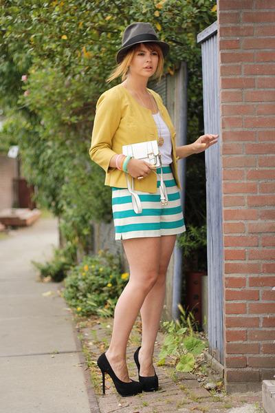 VJ-style bag - H&M Trend shorts