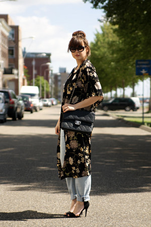 shopakira cardigan - Zara jeans