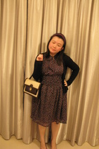 Zara dress - voodoo mary purse