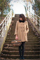 vintage bag - ANDRE shoes - Zara coat - asos accessories