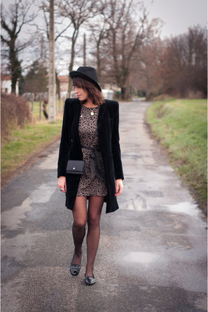 Zara coat - nouvelle selection dress - ANDRE shoes