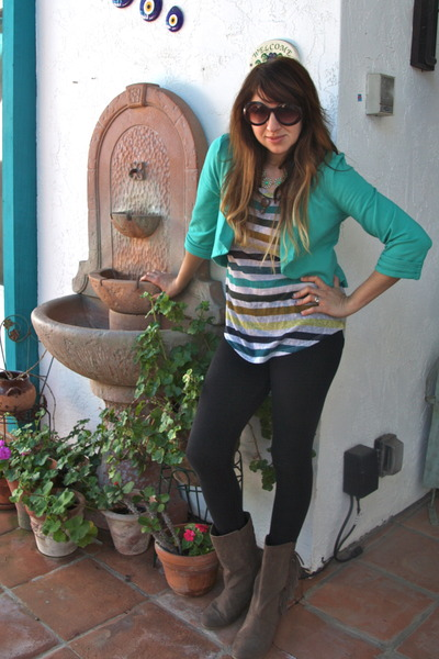 aquamarine kikaPaprika jacket - tan Madden Girl boots