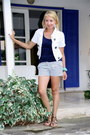 White-cropped-forever-21-jacket-navy-striped-zara-shorts